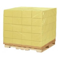 Yellow 3/4 Length Pallet Shroud - Pack of 50
